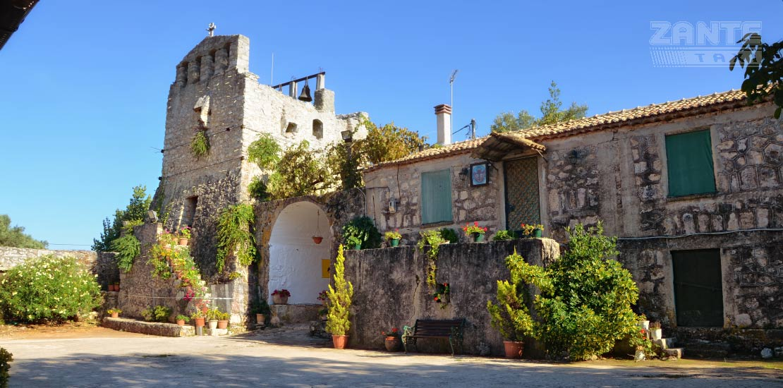 monastery agios georgios krimnom anafonitria zakynthos