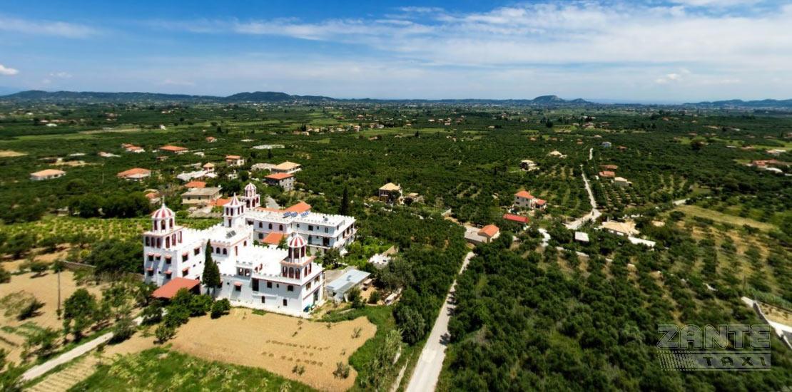 monastery eleftherortia zakynthos