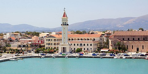 Saint Dionysios Church - Zakynthos island