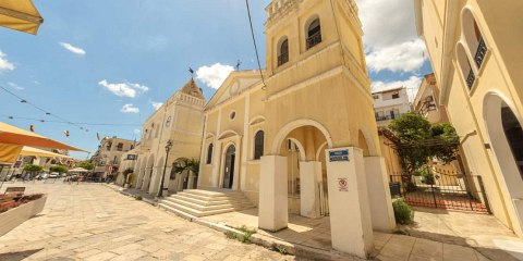 Saint Markos Square - Zakynthos island