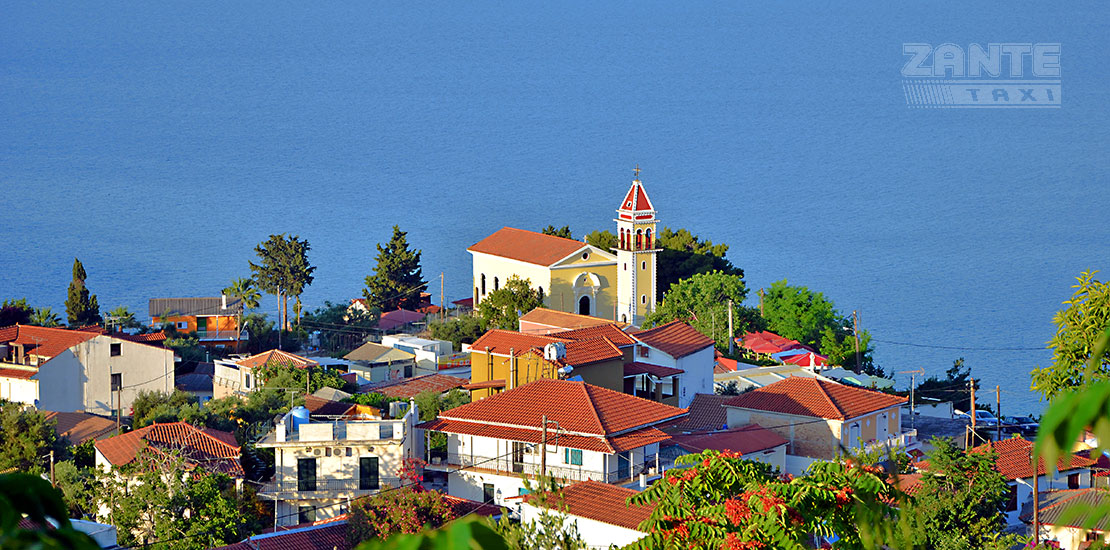 virgin mary pikridiotissa church zakynthos